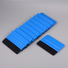 50 pcs Vinyl Squeegee Carbon Fibre Car Window Tint Tool Wrapping Scratch-Free