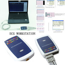 CONTEC ECG Workstation System,Portable 12-lead Resting PC based EKG Machine