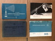 Glove Box Owners Literature For Mercedes W113 230sl