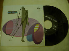 "FRANO TALO'""BLU NOTTE/SENSO-disco 45 giri CITY It 1978"" PROG.Italy"