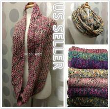 Wholesale Lot Of Unisex Winter Infinity Knit Cowl Neck Scarf 12pcs paked #684