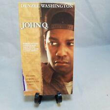 John Q VHS Tape 2002