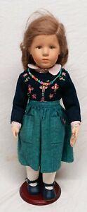 Käthe Kruse Puppe Marie Luise ca 53cm sehr schön erhalten selten mit Beingelenke