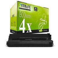 4x MWT Eco Cartucho Negro Compatible para Brother TN-900BK TN900BK TN 900 BK
