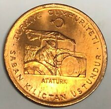 # C639     TURKEY  COIN,     10  KURUS    1974