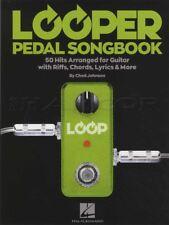 Looper Pedal Songbook Guitar Vocal TAB Chord Melody Song Book Chad Johnson Hits
