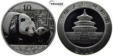 PRAGER: China, 10 Yuan 2011, Panda Bär, Silber, Unze [1166]