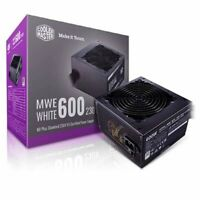 Cooler Master MWE 600W 230V V2 120mm HDB Fan 80 PLUS White PSU