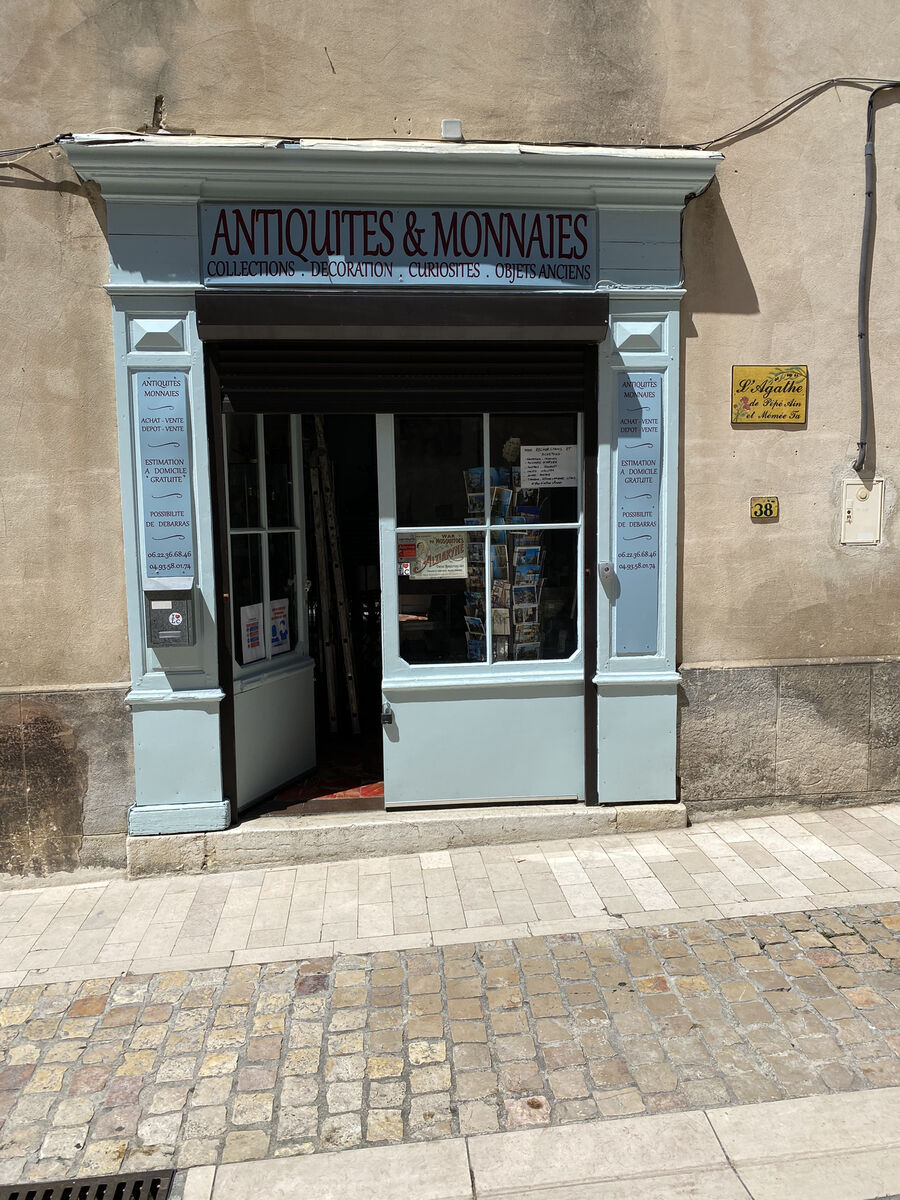 Antiquités&Monnaies