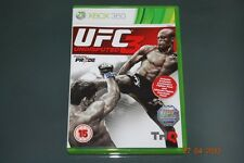 UFC Undisputed 3 Xbox 360 UK PAL **FREE UK POSTAGE**
