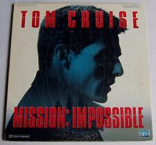 LASERDISC - PAL - MISSION IMPOSSIBLE - avec Tom Cruise
