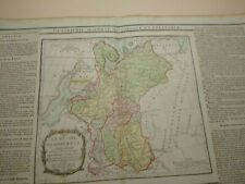 1786 Desnos and de la Tour Hand coloured Map Russia in Europe