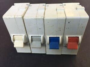 Wylex B6 6A B10 10A B16 16A B32 32A Plug In MCB