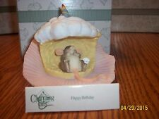 "Charming Tails ""Happy Birthday"" Cupcake Fitz And Floyd Mouse"