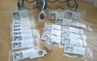 Wine Bottle Organisation, Vin Tags NEW PLAIN DESIGN  20 packs of 50 wine tags.