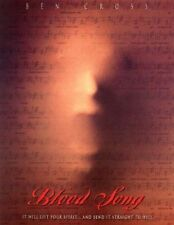 Bloodsong DVD - Region 1_1990s Horror Movie_BEN CROSS_Thriller
