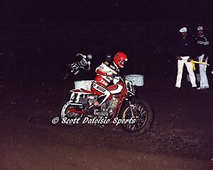 1982 Ricky Graham AMA Ascot TT 8 X 10 Photo  Motorcycle Racing  Dirt Track