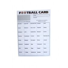 40 Team Football Cards x 10