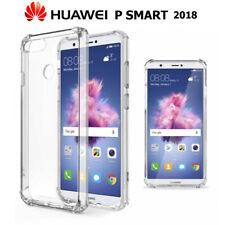 Funda Gel TPU Transparente Antigolpes para Huawei P Smart 2018