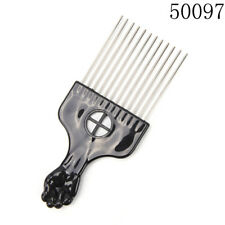 Fashion Salon Use Metal Comb Pick Comb Hair Brush Hairdressing Styling Tool 3c 50097