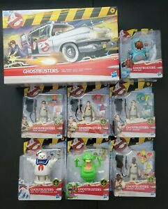 """2021 Ghostbusters Classic 1984 Fright Feature 5"""" Set of 7 Hasbro ECTO-1"""