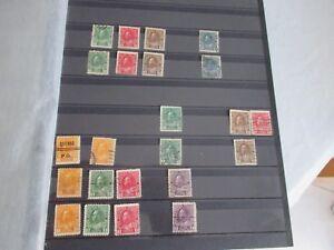 lot de timbres anciens canada tous états oblitérés avec ou sans trace charnieres