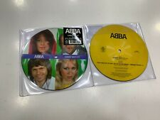 """ABBA PICTURE DISC  7"""" SUMMER NIGHT CITY  / PICK A BALE OF COTTON   2019"""