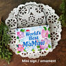 World's Best MaMaw Wood Ornament Mini Sign Ma Maw Gift Decorative Greetings USA