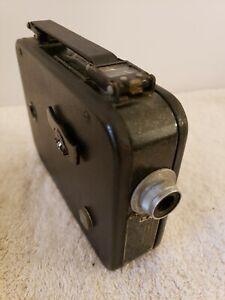 Antique 1930's Cine KODAK EIGHT Model 20 8mm Movie Camera w/Case - Eastman Kodak