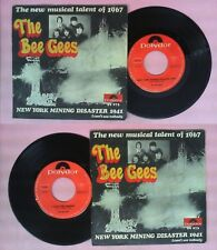LP 45 7'' THE BEE GEES New york mining disaster 1941 I can't see no cd mc dvd