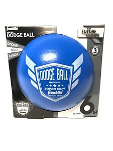 Franklin Official Super Skin Dodge Ball Blue 6 Inch Sting Free Super Durable New
