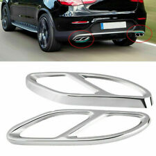 Exhaust Pipes Tailpipe Tips for Mercedes Benz W176 W246 W205 W212 W213 X253 W166