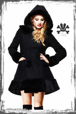 Knee Length Gothic Winter Coats & Jackets for Women