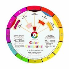 "Grumbacher Computer Color Wheel, 8"" dia. B420"