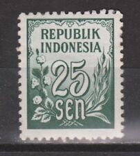 Indonesia 80 MNH PF Cijfer 1951 : NU VEEL MEER INDONESIE