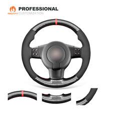 Suede Carbon Fiber Steering Wheel Cover for Seat Leon FR|Cupra (MK2 1P) Ibiza FR