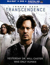 Transcendence (Blu-Ray + DVD + Digital H Blu-ray