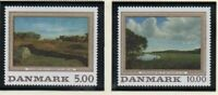 Denmark Sc 972-973 1992 Paintings stamp set mint NH
