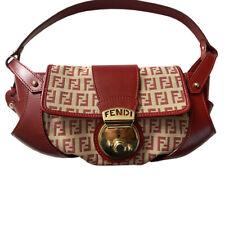 Fendi Borsa Tuc Red & Zucca Baguett