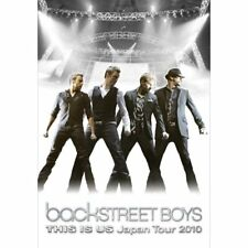BACKSTREET BOYS THIS IS US JAPAN TOUR 2010 GREAT SHAPE!! (B)