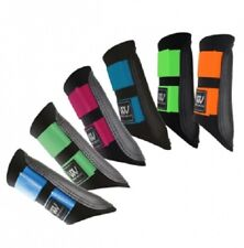 WOOF WEAR CLUB BRUSHING BOOTS NEW COLOUR FUSION RANGE - HORSE PONY EQUINE