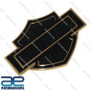 Suitable For Harley Davidson Motor Cycle Badge Decal Alloy Size 106 x 76mm ECs