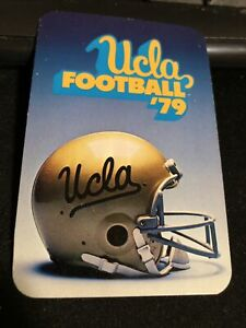 1979 UCLA Bruins College Football Pocket Schedule Card