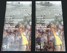 2 Sets Canada  Mint Postage Stamps Golf Open Championship of Canada 2004