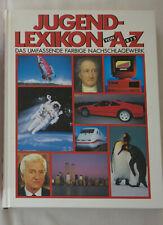 Jugendlexikon von A bis Z - Das umfassende farbige Nachschlagewerk 1991 Buch