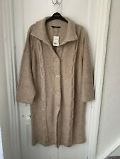 Evans Beige Long Sleeved Cardigan Size 30 - 32 (BNWT) Brand NEW With Tag