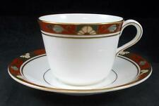 Royal Crown Derby CLOISONNE Cup & Saucer A1317 MANUFACTURER'S 2ND