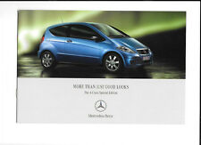 MERCEDES BENZ A CLASS SPECIAL EDITION CAR BROCHURE JUNE 2006 FOR 2007 MODEL YEAR