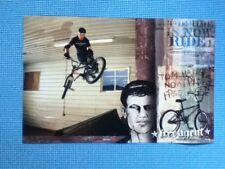 Free Agent Bmx poster Tom Haugen Mankato YMCA Tailwhip 17 x11 park spine ramp
