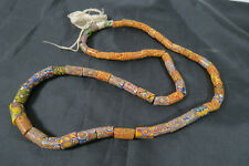 Alte Millefiori Glasperlen BS10 Old Venetian African Trade Beads Murrine Perles
